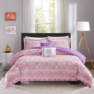 Intelligent Design Ruby 5-piece Comforter Set