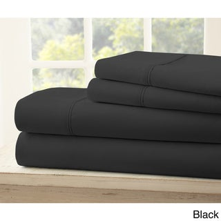 Merit Linens Ultra-soft 4-piece Bed Sheet Set