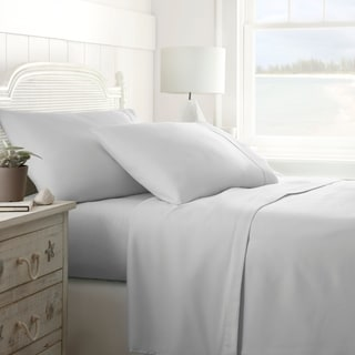 Merit Linens Lifetime Warranty Brushed Microfiber 4-piece Bed Sheet Set