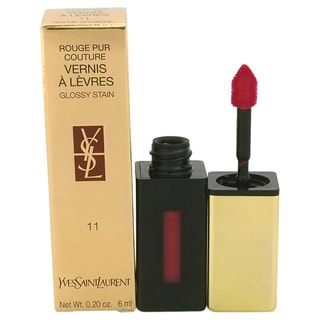 Yves Saint Laurent Rouge Pur Couture Vernis A Levres Glossy Stain # 11 Rouge Gouache