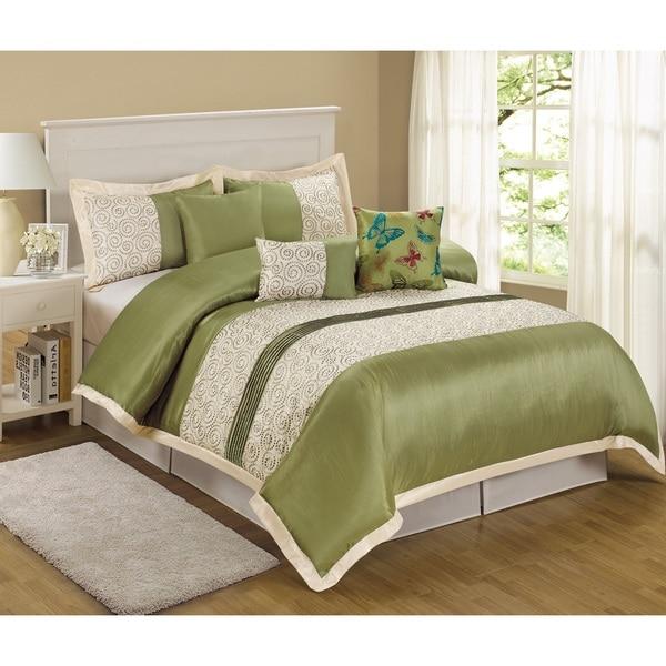 Fashion Street Tustin 7-piece Comforter Set
