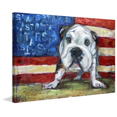 Marmont Hill - Handmade No Bull Painting Print on Canvas