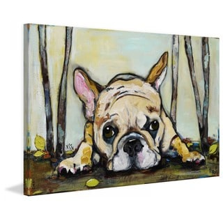 """Marmont Hill - """"Smushy"""" by Tori Campisi Painting Print on Canvas"""