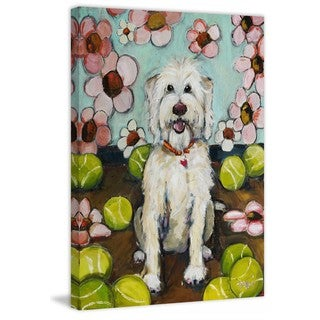 """Marmont Hill - """"Rosie"""" by Tori Campisi Painting Print on Canvas"""
