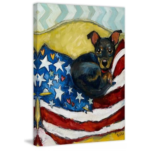 Marmont Hill - Handmade Rescue Me Rescue You Painting Print on Canvas