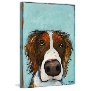 Marmont Hill 'What' by Tori Campisi Painting Print on Canvas
