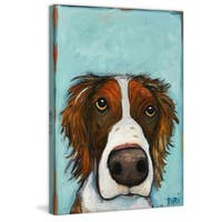 Marmont Hill 'What' by Tori Campisi Painting Print on Canvas - Multi-color