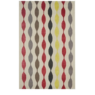 "Rizzy Home Gillespie Avenue Hand-Tufted New Zealand Wool Runner Rug (2' 6' x 8"")"