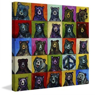 "Marmont Hill - ""Da Bears"" by Tori Campisi Painting Print on Canvas"