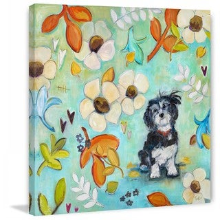 Marmont Hill - Handmade Izze Painting Print on Canvas