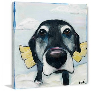 "Marmont Hill - ""All Good Dogs"" by Tori Campisi Painting Print on Canvas"