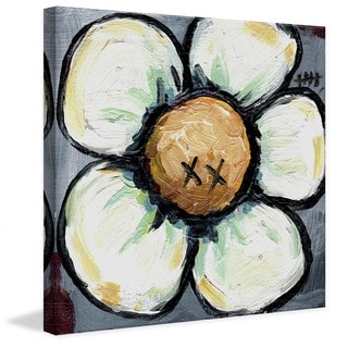 "Marmont Hill - ""XX Flower"" by Tori Campisi Painting Print on Canvas"