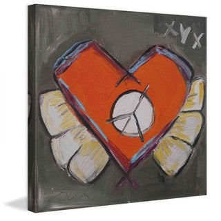 "Marmont Hill - ""Sore Heart"" by Tori Campisi Painting Print on Canvas"