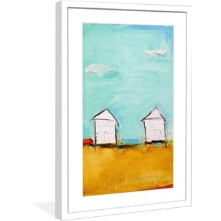 """Marmont Hill - """"Keep It Simple"""" by Tori Campisi Painting Print in Frame"""
