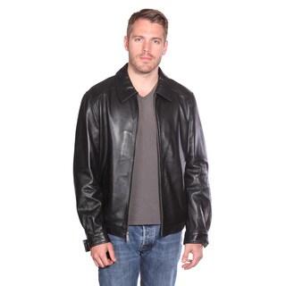 Mason & Cooper Men's Walden Leather Bomber Jacket