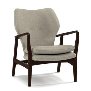 Portfolio Charlie Barley Tan Linen Arm Chair