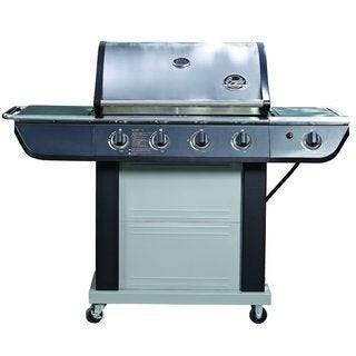 Jim Beam Grill 4-Burner Stainless Steel 61,000 BTU