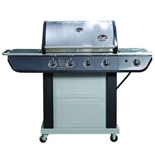 Bradley Smoker Grill 4-Burner Stainless Steel 61,000 BTU