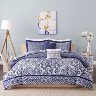 Intelligent Design Simone 5-piece Duvet Cover Set 2-Color Option