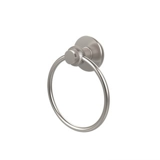 Allied Brass Mercury Collection Towel Ring with Twist Accent