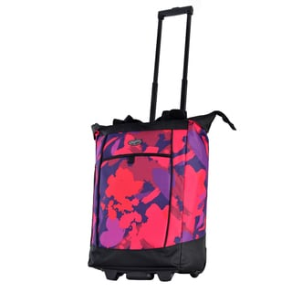 Olympia Fashion Pink Paint Rolling Shopper Tote Bag