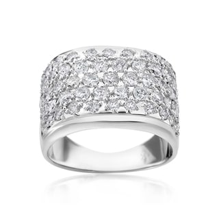 SummerRose 14k White Gold 2 1/8ct TDW Diamond Ring