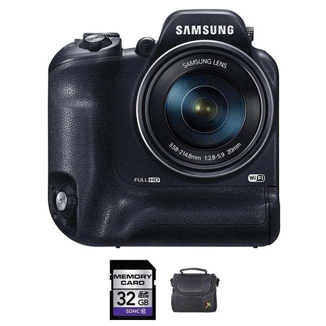 Samsung WB2200F Black 32GB Bundle