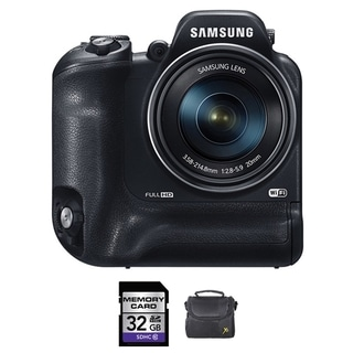 Samsung WB2200F Black 32GB Bundle