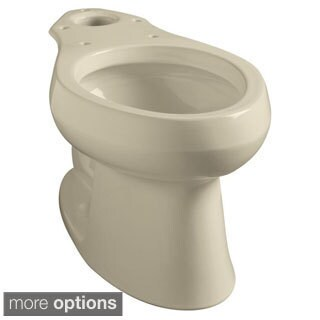 Kohler Wellworth Toilet Bowl Only in Almond