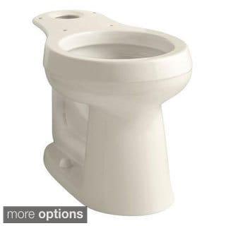 Kohler Cimarron Comfort Height Round Toilet Bowl Only