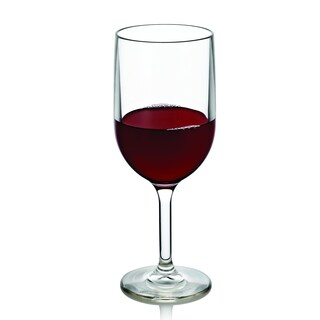 Drinique 12 oz. Plastic Wine Glass (Set of 4)
