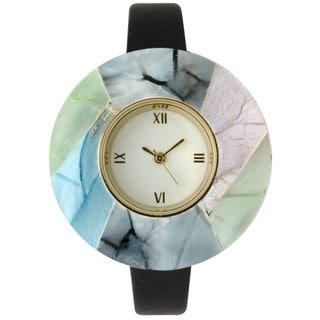 Olivia Pratt Women's Colored Marble Watch