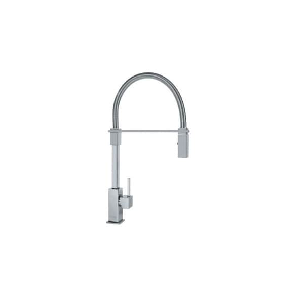 Franke Semi-professional Faucet with Pulldown Spout - Satin Nickel