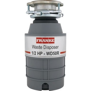 Franke Lb Waste Disposal 0.5 Hp Continuous Feed with Cord WD50RC - Silver