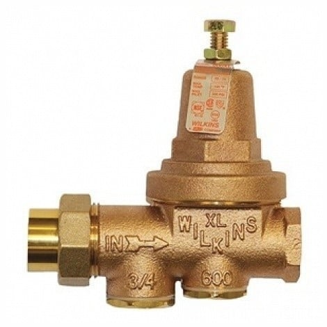 Wilkins Pressure Reducing Valve Lead-free Fnpt Union x Fnpt