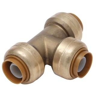 Sharkbite 3/8-inch (0.5-inch Od) x 3/8-inch (0.5-inch Od) x 3/8-inch (0.5-inch Od) Lead Free Tee