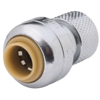 Sharkbite 0.25-inch (3/8-inch Od) x 0.25-inch Compression Nut Lead Free