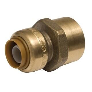 Sharkbite 3/8-inch (0.5-inch Od) x 0.5-inch Fnpt Reducing Lead Free