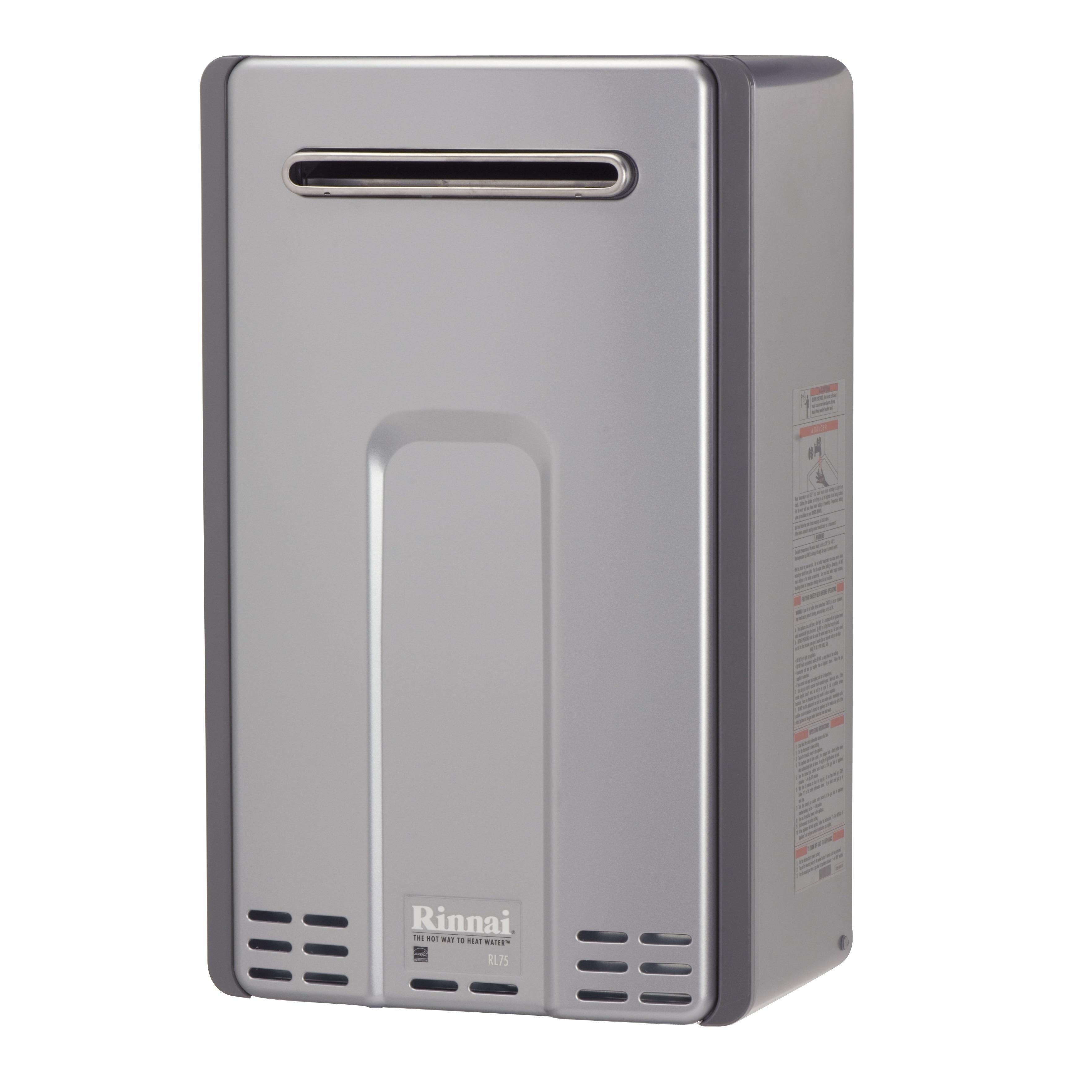 Rinnai Gas External Max BTU 180000 Max Flow 7.5GPM RL75eN...