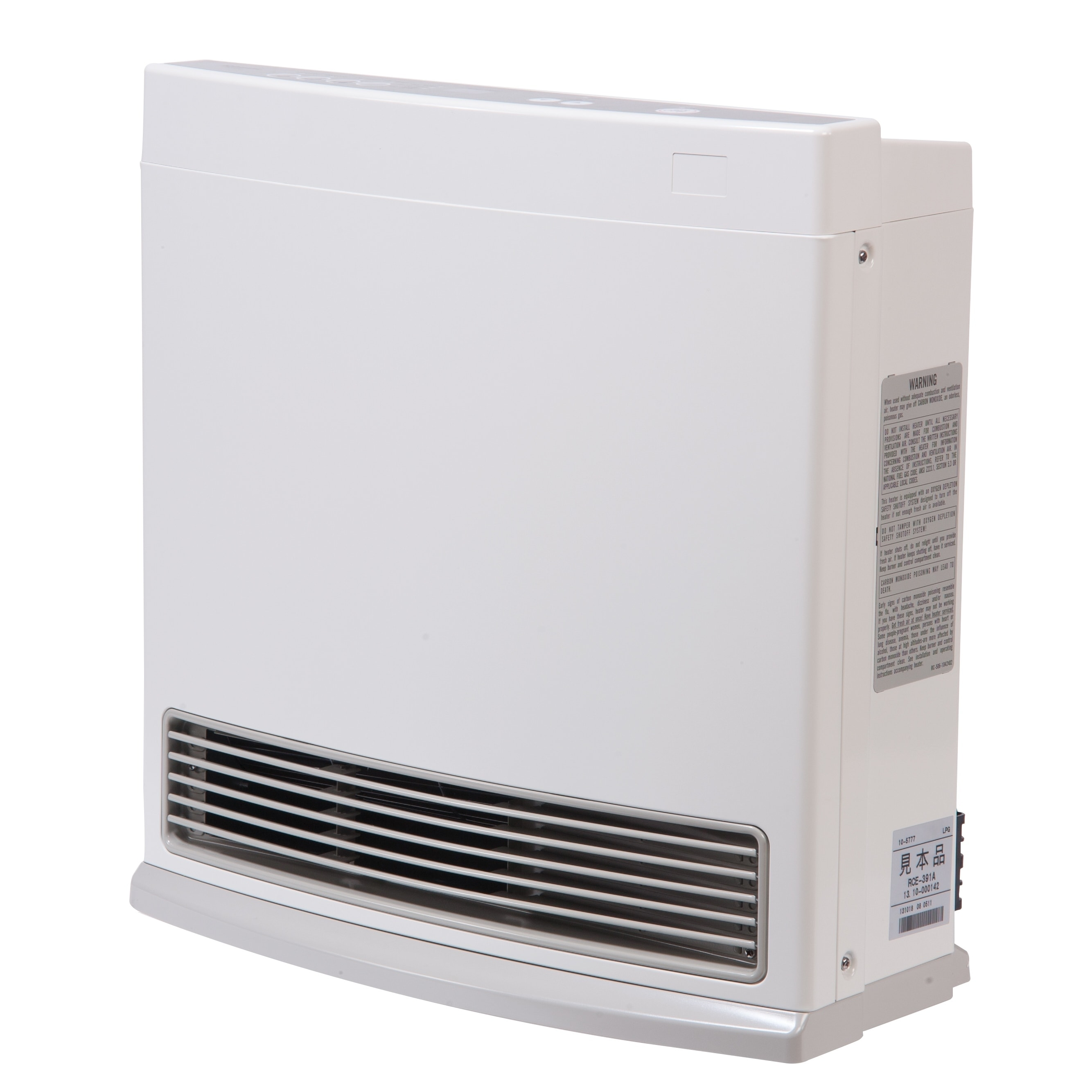 Rinnai White R Series, Propane Fueled, Vent Free Wall Fur...