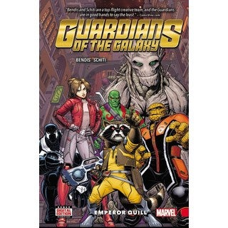 Guardians of the Galaxy 1: Emperor Quill (Hardcover)
