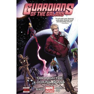 Guardians of the Galaxy 5: Through the Looking Glass (Paperback)