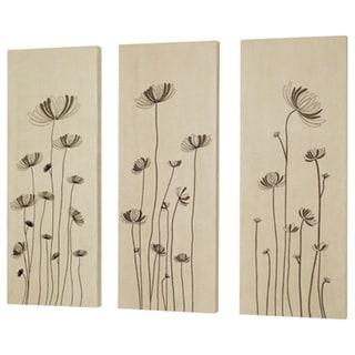 Dainolite Dandelion Embroidery On Suede (Set of 3)