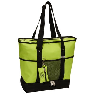 Everest 16.5-inch Deluxe Shopping Tote (Option: Lime)