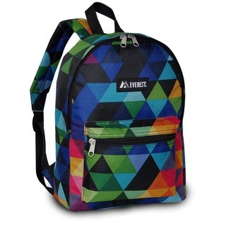 Everest 15-inch Basic Prism Backpack with Padded Shoulder Straps
