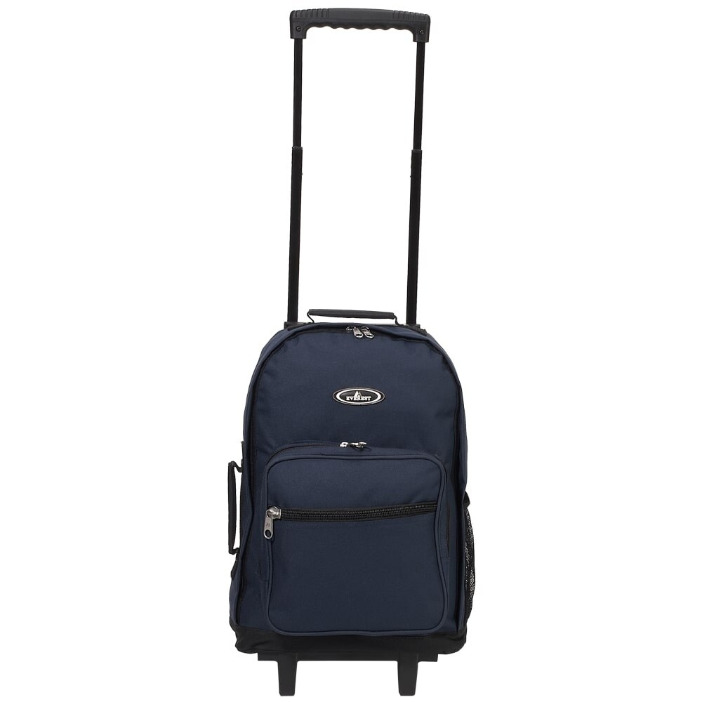 Everest 17-inch Wheeled Backpack (Blue), Size Over 17 Inches