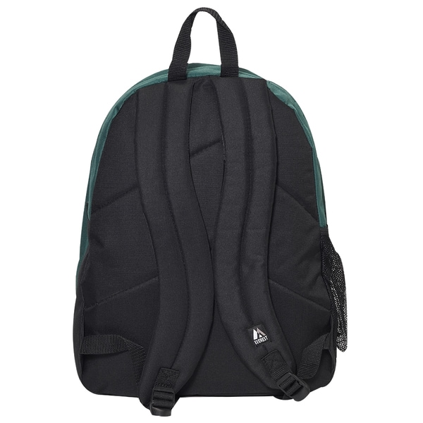Everest Double Main Compartment Backpack Turquoise//Black