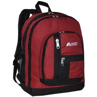 Everest 18-inch Double Main Compartment Backpack (Option: Purple)