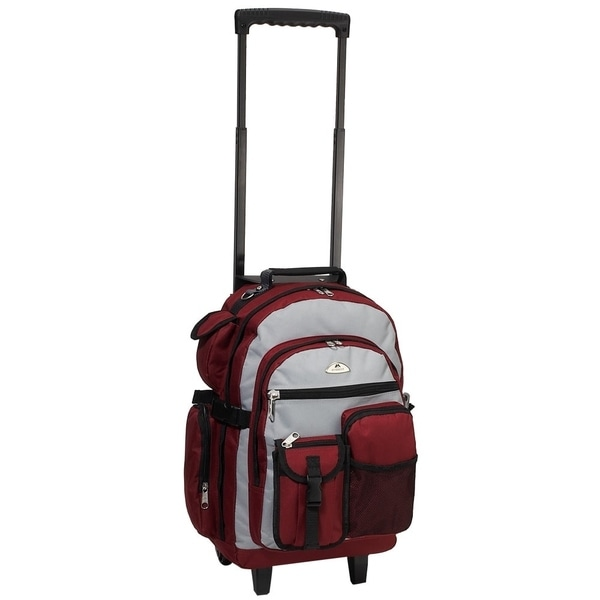 Everest 18.5-inch Deluxe Wheeled Backpack