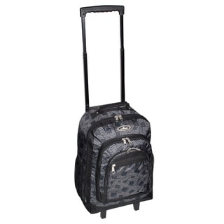 Everest 18-inch Dark Grey Wheeled Backpack